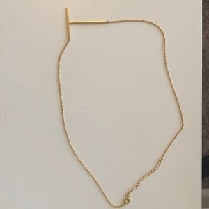 Anthropologie Letter Necklace